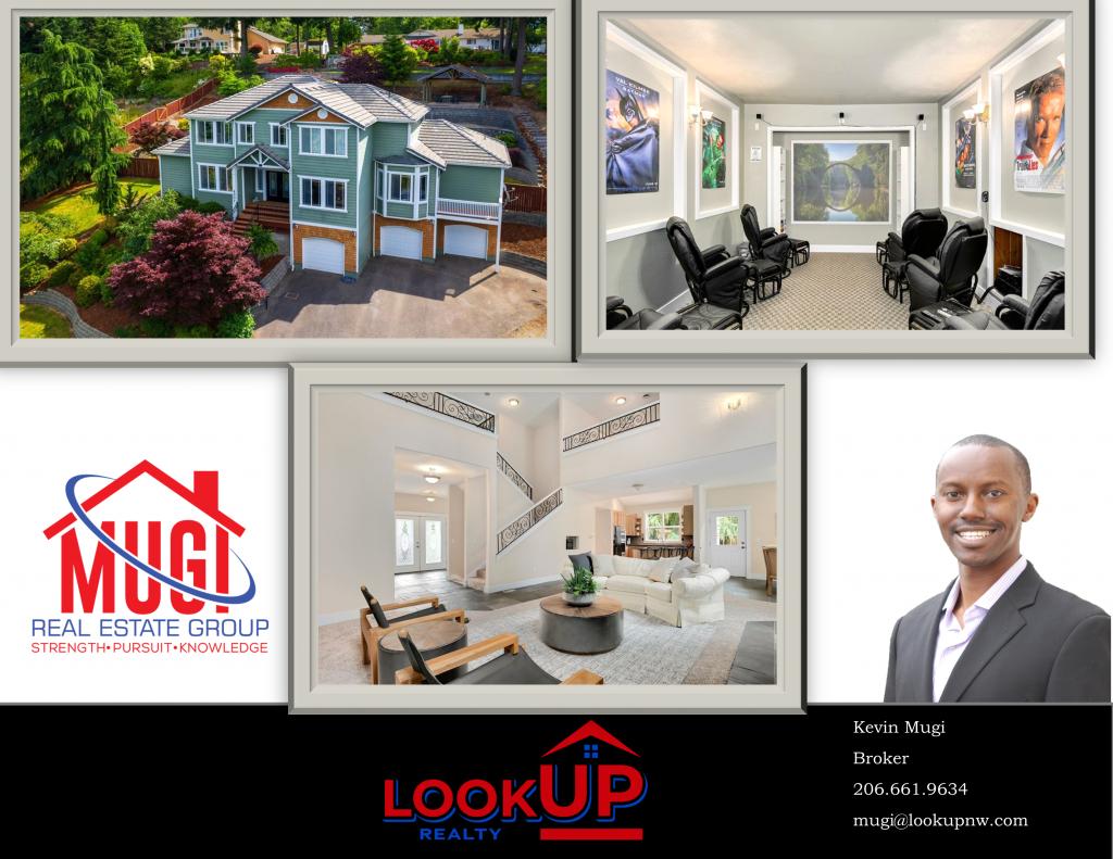 Auburn WA real estate agent Kevin Mugi Home for Sale Flyer